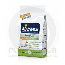 AFFINITY ADVANCE STERILIZED ADULT 1- 10 AÑOS ( PAVO Y CEBADA) 400 G