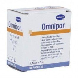 HARTMANN ESPARADRAPO OMNIPOR PAPEL SUAVE 2.5X5