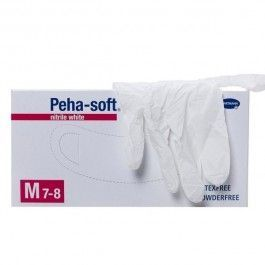 HARTAMANN GUANTES PEHA SOFT NITRILE WHITE M7-8 100 UD