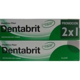 DENTABRIT FLUOR 125 ML 2 U