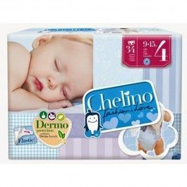CHELINO PAÑALES T 4 34 UD