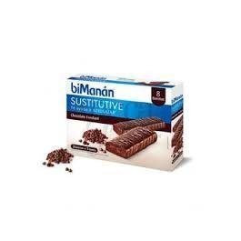 BIMANAN BARRITA CHOCOLATE INTENSO 8 UNID