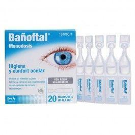 BAÑOFTAL 20 MONODOSIS 0,4 ML