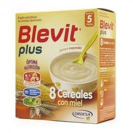 ORDESA BLEVIT PLUS 8 CEREALES MIEL FORMATO AHORRO