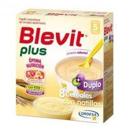 ORDESA BLEVIT PLUS DUPLO 8 CEREALES CON NATILLAS 600 G