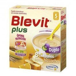 ORDESA BLEVIT PLUS DUPLO 8 CEREALES BIZCOCHO Y NARANJA 600 G