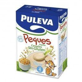 PULEVA BEBE PAPILLA CEREALES SIN GLUTEN /FOS 300 G 2 UNIDADES