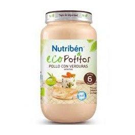 NUTRIBEN POTITO ECO POLLO CORRAL CON VERDURAS 235 GR