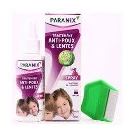 OMEGA PARANIX SPRAY 100 ML + PEINE (CHAMPU GRATIS)
