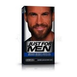 COMBE JUST FOR MEN BIGOTE Y BARBA GEL COLORANTE 30 CC CASTAÑO CLARO