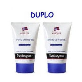 NEUTROGENA MANOS NORMAL CONCENTRADO 2X50ML DUPLO (2ºUNID AL 45%)