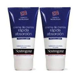 NEUTROGENA CREMA DE MANOS RAPIDA ABSORCION 140 ML DOSIFICADOR