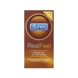 DUREX PRESERVATIVO REAL FEEL SIN LATEX 12 U