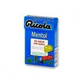 DIAFARM RICOLA CARAMELOS MENTOL 50 G
