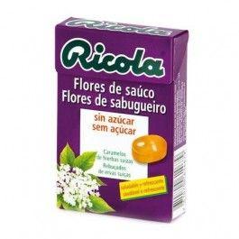 DIAFARM RICOLA CARAMELOS FLORES DE SAUCO 50 G