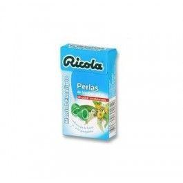 DIAFARM RICOLA PERLAS MENTOL - EUCALIPTO 25 G