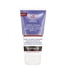 NEUTROGENA VISIBLY RENEW SPF 15 CREMA DE MANOS ELASTICI INTENSA 75 ML (MORADA)