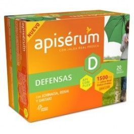 OMEGA PHARMA APISERUM DEFENSA 1500MG 20 VIALES