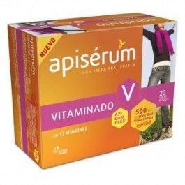 OMEGA PHARMA APISERUM VITAMINADO 500MG 20 VIALES