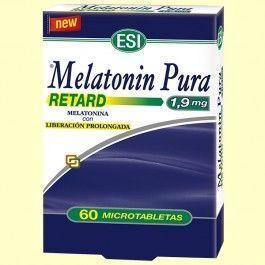 ESI MELATONINA RETARD 60 MICROTABLETAS