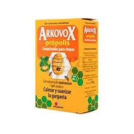 ARKOVOX PROPOLIS + VITAMINA C 20 COMP SABOR MENT