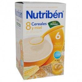 NUTRIBEN 8 CEREALES Y MIEL DIGEST 600 G