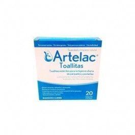 ARTELAC TOALLITAS ESTERILES LIMPIEZA PARPADOS 20 TOALLITAS