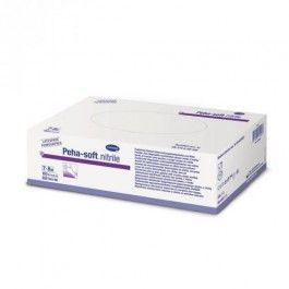 HARTMANN GUANTES DESECHABLES DE NITRILO PEHA-SOFT NITRILE T- MED 10 U