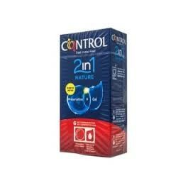 CONTROL ADAPTA 2 EN 1 NATURE 6 KIT PRESERVATIVOS + GEL