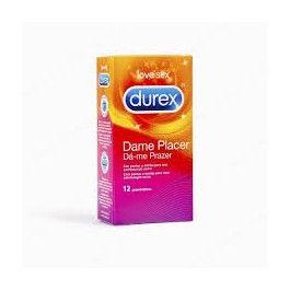 DUREX PRESERVATIVOS DAME PLACER 12 U ( PLEASUREMAX)