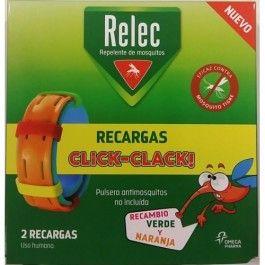 OMEGA RELEC RECARGAS PULSERA ANTIMOSQUITO 2 RECARGAS