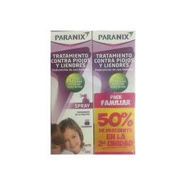 OMEGA PHARMA PARANIX SPRAY PACK 2 X100 ML 50% 2ª UD
