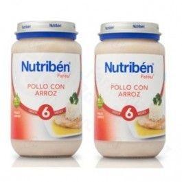 NUTRIBEN POTITO PACK GUISANTES TIERNOS CON JAMON 2 X 190 G
