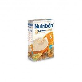 NUTRIBEN 8 CEREALES MIEL CALCI0