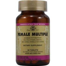SOLGAR FEMALE MULTIPLE 60 CMP