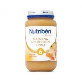 NUTRIBEN POTITO MANZANA PLATANO MELOCOTON Y PIÑA 235 GR