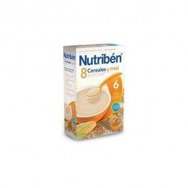 NUTRIBEN 8 CEREALES Y MIEL 600 G