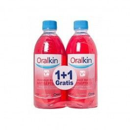 KIN PACK ORALKIN ENJUAGUE BUCAL 500 ML 2 X 1