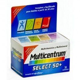 PFIZER MULTICENTRUM SELECT 50+ 30 COM