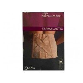 FARMALASTIC FAJA SACROLUMBAR CONTORNO CINT 75-