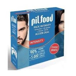 SERRA PILFOOD PACK INTENSITY 18 AMPOLLAS + 60 CAPS + CHAMPU 200 ML