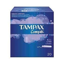 RECIO TAMPON TAMPAX COMPAK LITES 22UD
