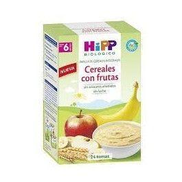 HIPP CEREALES CON FRUTAS 600 G 24 RACIONES