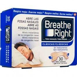 GLAXO BREATHE RIGHT TIRA NASAL COLOR T- GDE 30 U