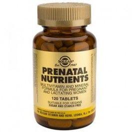 SOLGAR PRENATAL NUTRIENTES 120 CMP