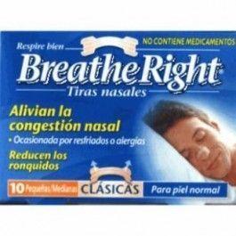 GLAXO BREATHE RIGHT TIRA NASAL T- GDE 10 U