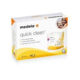 MEDELA BOLSAS QUICK CLEAN PARA MICROONDAS