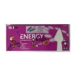 HOMEOSOR ENERGY KIDS 15 ML 10 VIALES