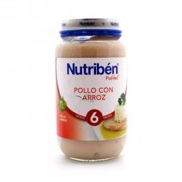 NUTRIBEN POTITO POLLO CON ARROZ 235 G