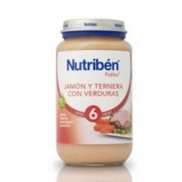 NUTRIBEN POTITO JAMON TERNERA Y VERDURAS 235GR